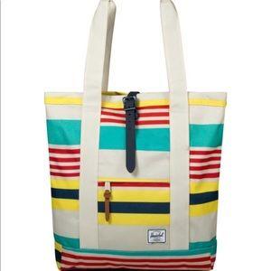 508e66ce2b5 Herschel Supply Company Bags - ☀️Brand New Herschel Malibu Stripe Market  Tote Bag
